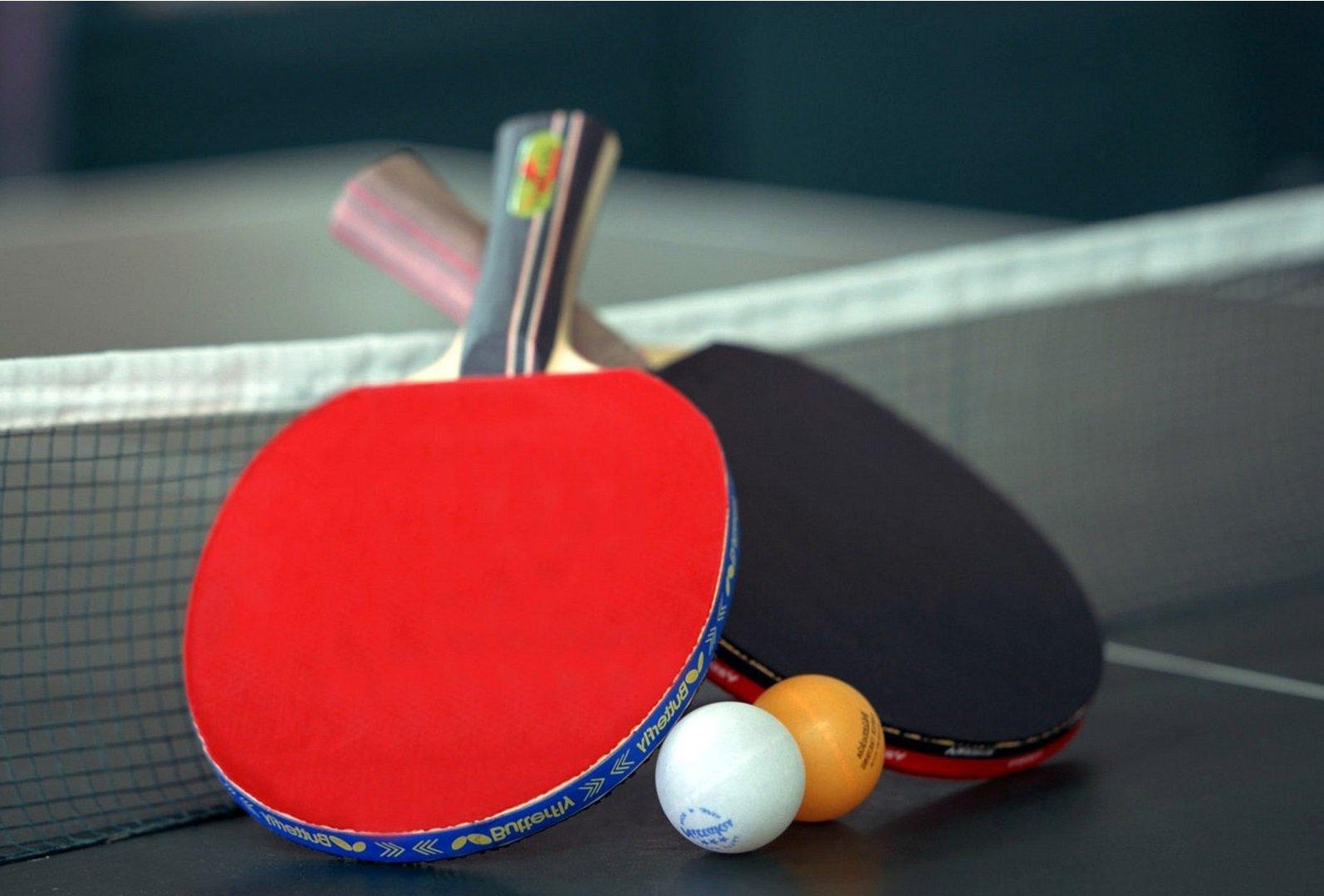 Обои на рабочий стол настольный теннис